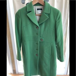 J-Crew Thinsulate Green Coat